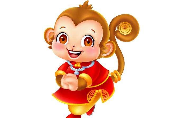 属猴女招财风景微信图片