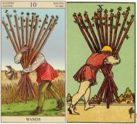 A Detailed Interpretation of the Cards of Ten Of Wands