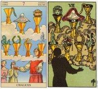韦特塔罗小阿卡纳的圣杯七(Seven Of Cups)有哪些含义?