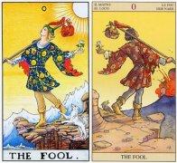 韦特www.959901.com0号愚人(The Fool)对7号战车(The Chariot)的启示