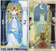www.959901.com女祭司(The High Priestess)对世界( The World)的启示