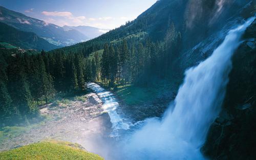 壁纸 风景 旅游 瀑布 山水 桌面 500_313