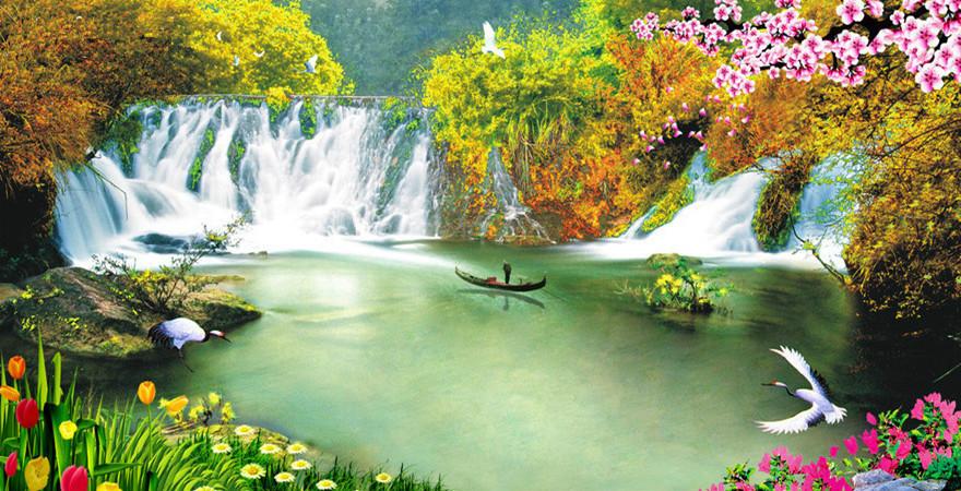 壁纸 风景 山水 桌面 880_450