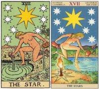 塔羅牌星星正逆位感情,星星牌愛情含義解析