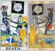 塔羅牌死神正逆位感情,死神牌愛情含義解析