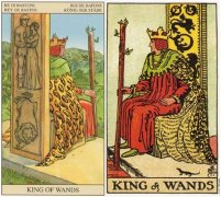 Tarot card forward and backward love meaning, analysis of the emotional fate of the scepter king