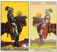 Tarot card forward and backward love meaning, analysis of the fate of Starcoin Knight