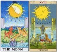 塔羅牌【18】月亮正逆位命運與運勢解析