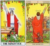 塔羅牌正位魔術師的牌面含義是什么?