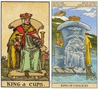 塔罗牌圣杯国王逆位的含义详解
