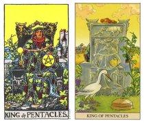 塔羅牌逆位星幣國王代表和象征了什么含義?